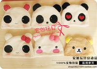 2014 NEW  Cartoon hat female winter plush animal  panda hat cap non-mainstream sweet hat free shipping