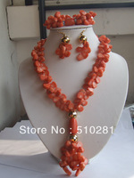 Fashion #007 New coral jewelry set for african wedding