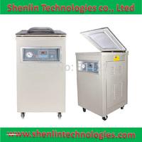 Vacuum shrinking&sealing packaging machine,plastic bag sealer,composite package packer food saving shrinker equipment,stainless