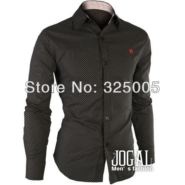Мужская повседневная рубашка  HZ0023
