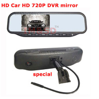 New arrival special 4.3 inch HD 720P Car DVR rear View Rearview mirror monitor screen for Car reversing camera Free shipping