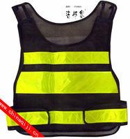 reflective jacket emergency vest safety vest solar safety vest flashing led safety vest