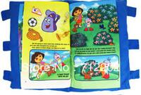Free Shipping Dora Cloth Books Dora Toy Yakuchinone Cloth Books Dora Cloth Books Tear Rotten