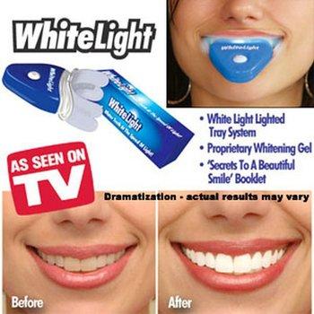 Free Shipping Dental White Light Teeth Whitener AS SEEN ON TV Best Selling