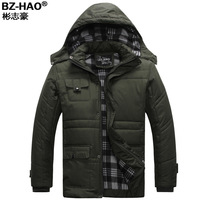 New arrival bz-hao winter thickening cotton-padded jacket thermal wadded jacket outerwear plus cotton plus velvet cotton-padded