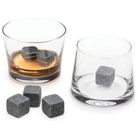 Bling Recommend Free Shipping 9pcs/lot Whisky Stone Ice Melts With Velvet Storage Pouch