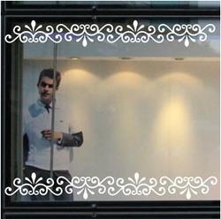 Ligne coin laciness stickers muraux miroir laciness for Miroir autocollants