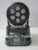 Free shipping 7x10w mini moving head led light