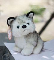 Super cute Animal model small  Husky dog plush Toy  20cm 1pc  birthday gift free shipping