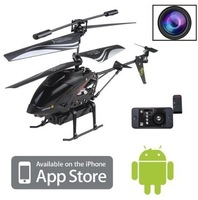 3.5ch video iphone ipad android control rc helicopter with camera gyro wl s215 Remote Control RTF Free shipping wholesale