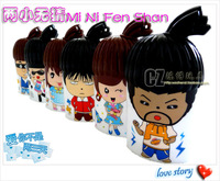 He specially recommended from mini fan with lanyard other lovely toys strong wind force 0