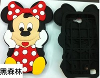 10PCS/3D Mickey Silicone Back Cover Case for SAMSUNG N7100 Galaxy Note 2 II