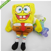 "2013 New Style Spongebob SPONGE BOB Squarepants 6.4""  16CM Soft Plush Toy Free Shipping Set of 10PCS"