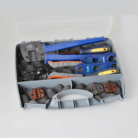 PVBOX-2 MC3/MC4 Solar crimping tool kits in plastic case for 2.5-6.0mm2 Solar Panel PV cable