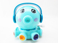 Octopus kid on the chain clockwork toys, super cute, child, baby love