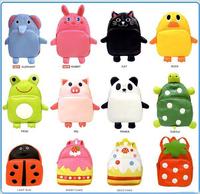 Free Shipping Animal Bags Zoo Cartoon Kids Backpacks Kids Bags Oxford Children School Bags CSB-001