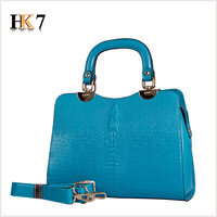 Free Shipping Hk7 women's handbag 2013 women's handbag fashion crocodile pattern handbag Women one shoulder bag