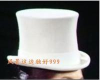 White president cap pure wool fedoras equestrian cap magic cap