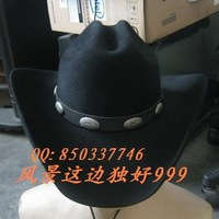Wool fedoras cowboy hat male women's cowboy hat