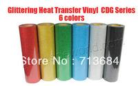 glittering heat transfer vinyl