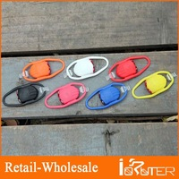 Free Shipping 2013 Small And Exquisite Helmet Light Wholesale Colorful Waterproof Bike Front Light Secure LED Light