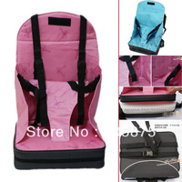 New Portable Booster Seat Baby/Infant/Child seat bag safety car cushion adjustable straps Travel High Chai