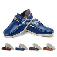 Hot Sale! Luxury Denmark Brand Genuine Leather Boat Shoes For Men, 2013 Latest Design Nice Fashion Shoes Dree Shoes Size 38-44