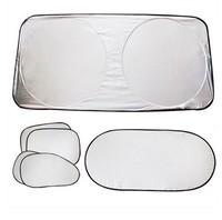 Free Shipping(6pcs/set)Car Window SunShades,Window Sun-shading Sunscreen Cover,Aluminum Foil Sun Block