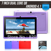2013new model 7 inch Tablet PC Action ATM7023 ARM CortexA9 family dual core Android 4.1 512MB 4GB WIFI Camera Capacitive screen