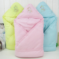 Autumn and winter newborn baby holds blankets 100% cotton child bag 100% cotton newborn children supplies sleeping bag