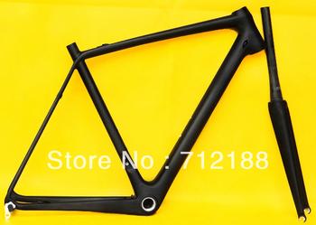 FR-322 Full Carbon  UD Matt Matte Road Bike 700C BB30 Frameset:   50cm/52cm / 54cm / 56cm/ 58cm