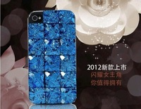 3D Luxury Bling Crystal Diamond Rhinestone Hard Back Cover Case For iphone 5 Case, Mix Color