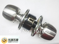 Free shipping Copper Lock cylinder Stainless steel ball lock Room door Interior locks HL1858