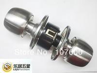 Free shipping Copper Lock cylinder Stainless steel ball lock Room door Interior locks HL1858