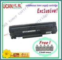 P1505n print toner cartridge, page yield: 12000(A4,5% Coverage), 5 bottles of toner (Free),36A inkjet printer ink cartridge