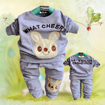 Free / Drop Shipping , Children Cartoon Clothing Sets, Cotton Children Long Sleeve Outdoor Clothes, Autumn Wear, Sports Hoodies