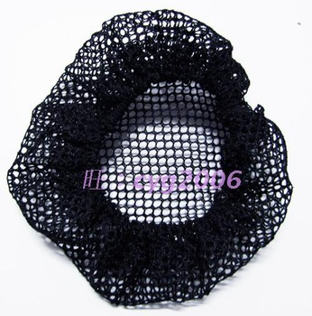 High quality black fine mesh hair maker hair accessory net bag invisible string bag