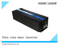 HOT SAEL! Frequency inverter 8000w/16kw  DC24V to AC230V Pure sine wave invrter/solar invertor (CP-P-8000W)