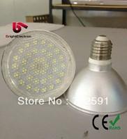 Free Shipping IP65 12W 5050SMD 60pcs Waterproof PAR38 High Power PAR 38 Lamp Outside lights