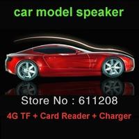 Audio car model speaker subwoofer mini usb flash drive MP3 card speaker Low price