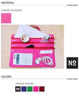 2013 latest design multi zipper fashion hand women acrylic clutch bag