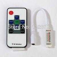 RF wireless RGB led control DC 12V use for 5050 3528 RGB led strip RF remote controller Free Shipping