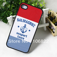 Dropshipping New Seaport Design Lovely Hard Case Cover For iphone 4 4G 4GS 4S Free Shipping JS0364