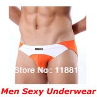 Hot Sale! (3 pieces/lot )95%Cotton+5%Spandex Men Underwears
