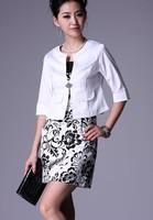Dresses Women Korean fashion Slim Sexy striped mini OL dress and Small suit