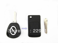 Replacement Fob Modified Case Uncut Auto Blank Flip Folding Remote Key Shell For Lada Key With 3 Buttons Free Shipping