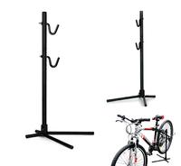 Height High Adjustable Bike Bicycle Rear Stay Bracket Stand Repair Holder Black
