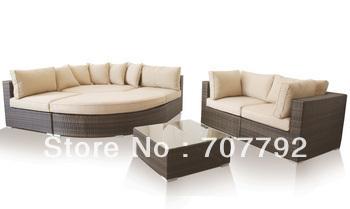 2013New!Outdoor modern Rattan furniture sofa set