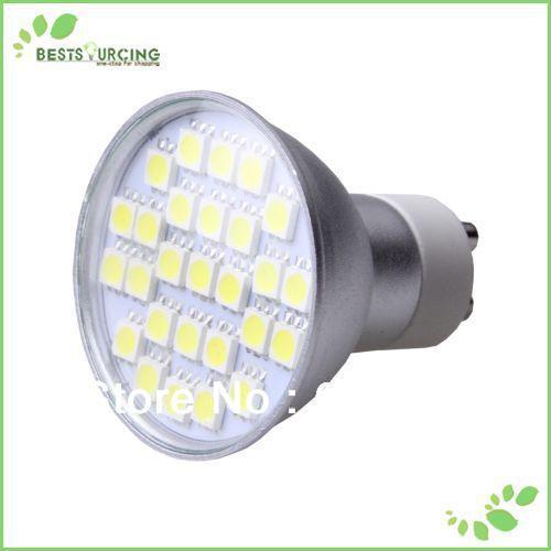 free shipping 5pcs GU10-5050-27LED 110V SMD LED GU10 3W 5050 SMD 27 LEDs Bulb Lamp Light Spotlight(China (Mainland))