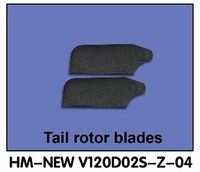 Walkera New V120d02s parts HM-New v120d02s-z-04 Tail Rotor Blade